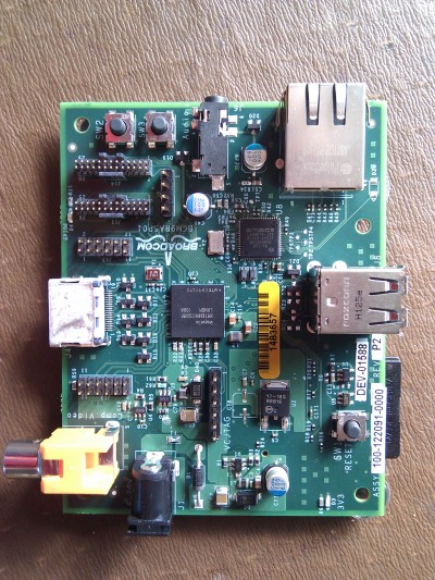 Raspberry Pi alpha board