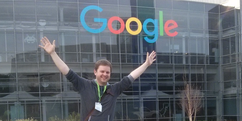 Me at the Googleplex