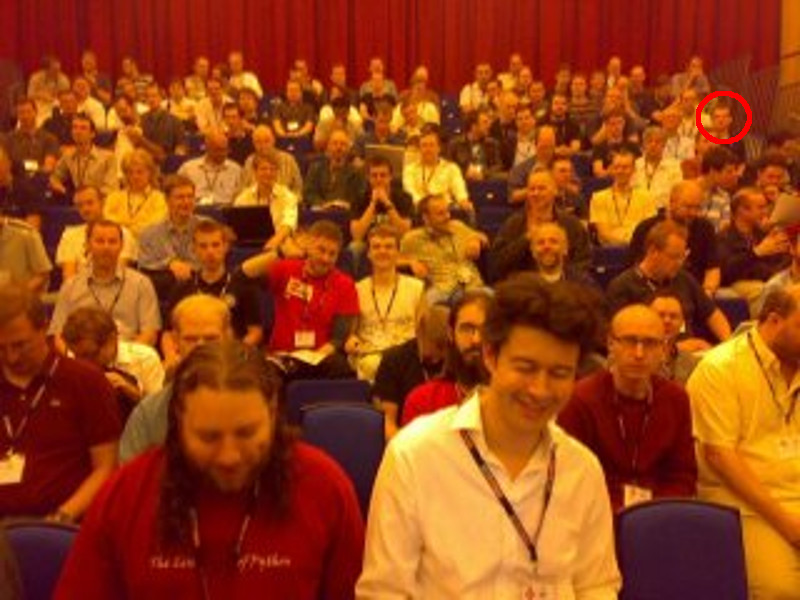 The very first PyCon UK